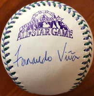 Fernando Vina Signed 1998 All-Star Game Baseball - St Louis Cardinals