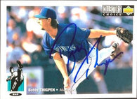 Bobby Thigpen Signed 1994 Collector's Choice Baseball Card - Seattle Mariners