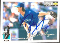 Bobby Thigpen Signed 1994 Collector's Choice Silver Signature Baseball Card - Seattle Mariners
