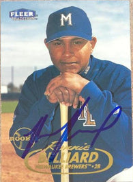 Ronnie Belliard Signed 1998 Fleer Tradition Baseball Card - Milwaukee Brewers