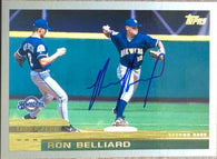 Ronnie Belliard Signed 2000 Topps Baseball Card - Milwaukee Brewers