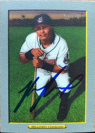 Ronnie Belliard Signed 2005 Topps Turkey Red Baseball Card - Cleveland Indians #427