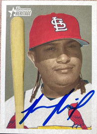 Ronnie Belliard Signed 2006 Bowman Heritage Baseball Card - St Louis Cardinals