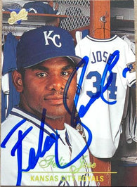 Felix Jose Signed 1994 Studio Baseball Card - Kansas City Royals