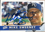Mike Sweeney Signed 2001 Fleer Tradition Baseball Card - Kansas City Royals