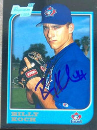Billy Koch Signed 1997 Bowman Baseball Card - Toronto Blue Jays