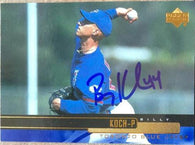 Billy Koch Signed 2000 Upper Deck Baseball Card - Toronto Blue Jays