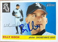 Billy Koch Signed 2004 Topps Heritage Baseball Card - Chicago White Sox