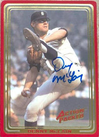 Denny McLain Signed 1993 Action Packed All-Star Gallery Baseball Card - Detroit Tigers