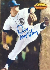 Denny McLain Signed 1994 Ted Williams Baseball Card - Detroit Tigers