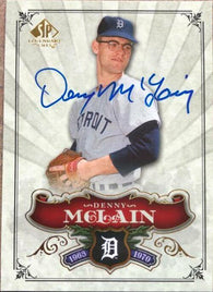 Denny McLain Signed 2006 SP Legendary Cuts Baseball Card - Detroit Tigers