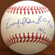 Raul Mondesi Signed Rawlings Official Major League Baseball - w/ROY 94 Insc.