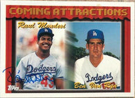 Raul Mondesi Signed 1994 Topps Baseball Card - Los Angeles Dodgers