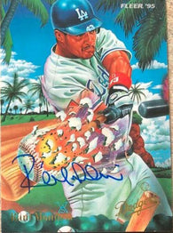 Raul Mondesi Signed 1995 Fleer Pro Visions Baseball Card - Los Angeles Dodgers