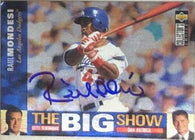 Raul Mondesi Signed 1997 Collector's Choice - The Big Show Baseball Card - Los Angeles Dodgers