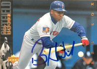 Billy Hatcher Signed 1994 Upper Deck Baseball Card - Boston Red Sox