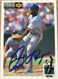 Mel Rojas Signed 1994 Collector's Choice Baseball Card - Montreal Expos - PastPros