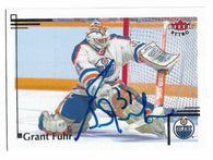 Grant Fuhr 2012-13 Fleer Retro Hockey Card - Edmonton Oilers
