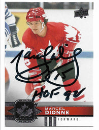 Marcel Dionne Signed 2017-18 Upper Deck Canadian Tire Hockey Card - Team Canada - PastPros