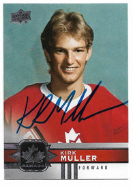 Kirk Muller Signed 2017-18 Upper Deck Canadian Tire Hockey Card - Team Canada - PastPros