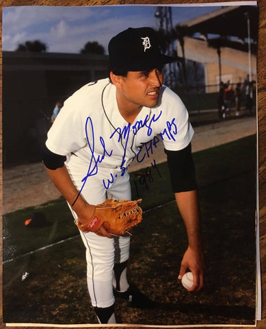 Sid Monge Signed 8x10 Color Photo - Detroit Tigers