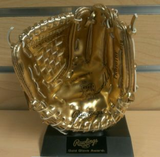 Frank White Signed Mini Rawlings Gold Glove