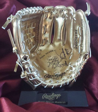 Ellis Valentine Signed Mini Rawlings Gold Glove