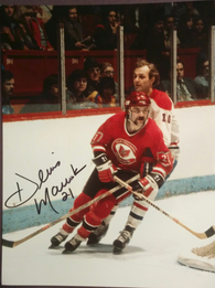 Dennis Maruk Signed 8x10 Color Photo - Cleveland Barons