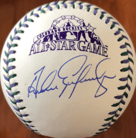 Andres Galarraga Signed 1998 All-Star Game Baseball
