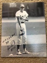 Horacio Pina Signed 8x10 B&W Photo w/73 WS Inscription