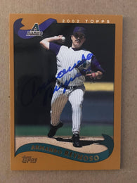 Armando Reynoso Signed 2002 Topps Baseball Card - Arizona Diamondbacks