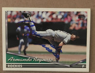 Armando Reynoso Signed 1994 Topps Baseball Card - Colorado Rockies - PastPros