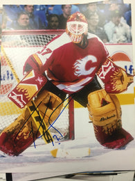 Trevor Kidd Signed 8x10 Color Photo - Calgary Flames