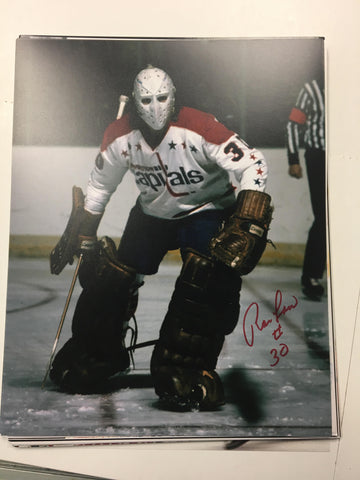 Ron Low Signed 8x10 Colour Photo - Washington Capitals