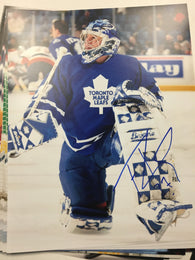Trevor Kidd Signed 8x10 Color Photo - Toronto Maple Leafs