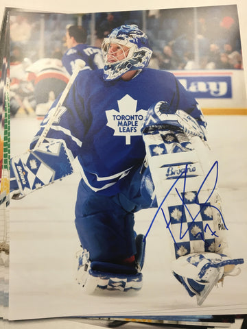 Trevor Kidd Signed 8x10 Color Photo - Toronto Maple Leafs - PastPros