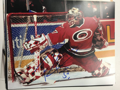 Trevor Kidd Signed 8x10 Color Photo - Carolina Hurricanes
