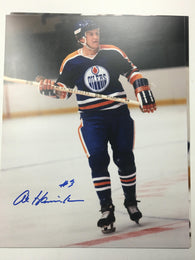 Al Hamilton Signed 8x10 Color Photo - Edmonton Oilers - PastPros