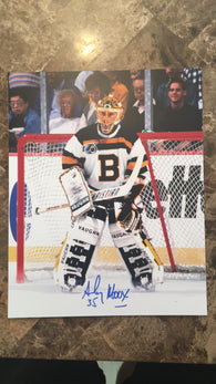 Andy Moog Signed 8x10 Color Photo - Boston Bruins - PastPros