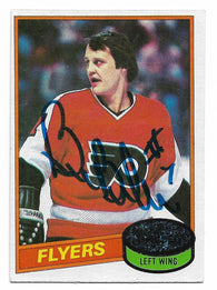 Bill Barber 1980-81 Topps Hockey Card - Philadelphia Flyers - PastPros