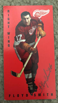 Floyd Smith Signed 1994-95 Parkhurst Tall Boys Hockey Card - Detroit Red Wings - PastPros