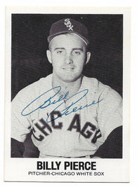 Billy Pierce Signed 1977 Renata Galasso Baseball Card - Chicago White Sox - PastPros
