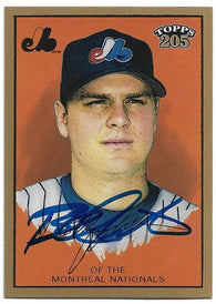 Brad Wilkerson Signed 2003 Topps 205 Baseball Card - Montreal Expos