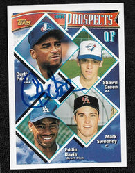 Curtis Pride Signed 1994 Topps Baseball Card -  Montreal Expos