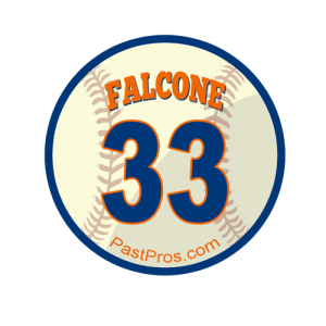 Pete Falcone Autograph Submission