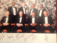 1992 Detroit Tigers Signed 8×10 Photo - 7 Signatures