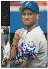 Curtis Pride Signed 1994 Upper Deck Baseball Card -  Montreal Expos