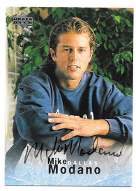 Mike Modano 1995-96 Upper Deck Be A Player Hockey Card - Dallas Stars