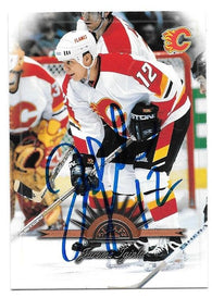 Jerome Iginla Signed 1997-98 Leaf Hockey Card - Calgary Flames - PastPros
