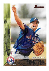 Scott Gentile Signed 1995 Bowman Baseball Card - Montreal Expos